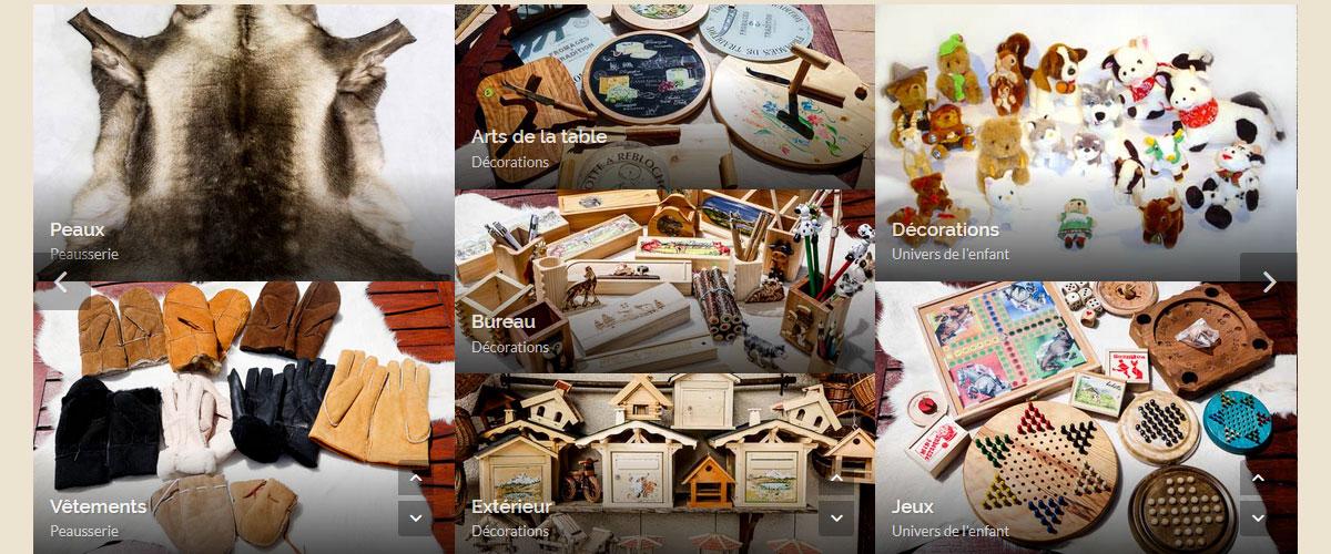 artisanat des alpes cadeaux souvenirs vente en ligne