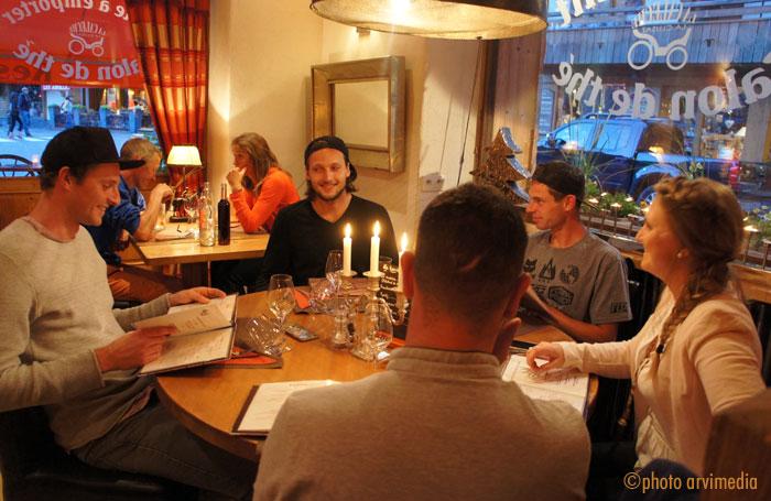 Restaurant la cal che la clusaz haute savoie - La table de savoie et la table de bretagne ...