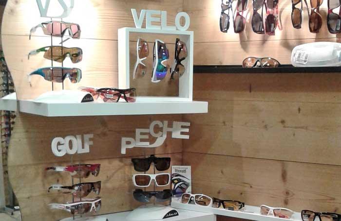 8af82ef6f875df Lunettes de sport à la vue et masque de ski opticien chalet de l optique.  Lunettes de vélo, lunettes de golf, lunettes de pêche