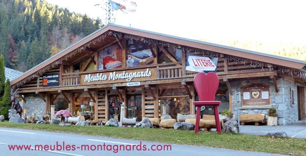 Meubles Montagnards Style Savoyard La Clusaz