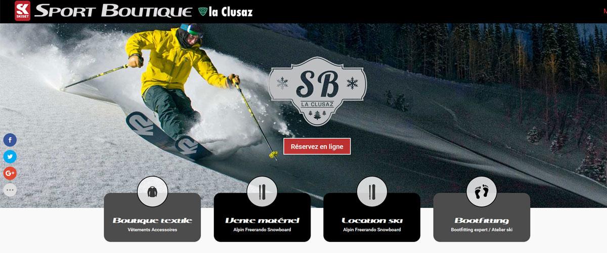 661dde130fa4 Sport Boutique est votre magasin de sports hiver/été sur La Clusaz.  Découvrez nos